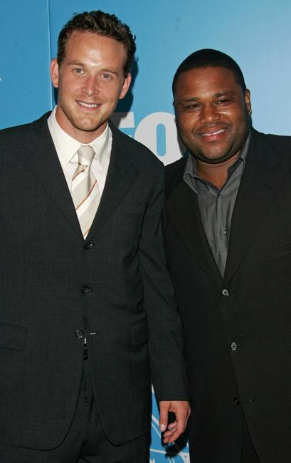 Cole Hauser and Anthony Anderson at the FOX 2007 Programming presentation.