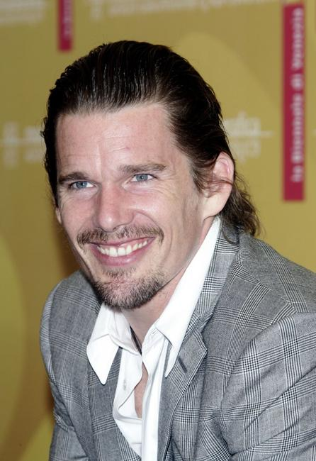 Ethan Hawke at the photo call of