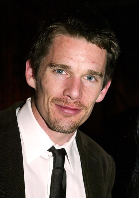 Ethan Hawke at the during the party to announce the winner of the Young Lions Fiction Award.