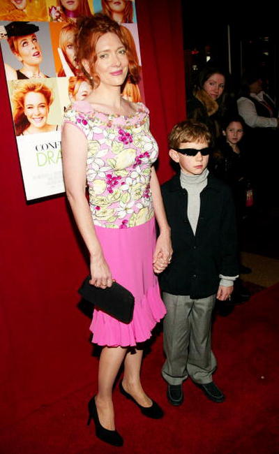 Glenne Headly and Sterling at the premiere of