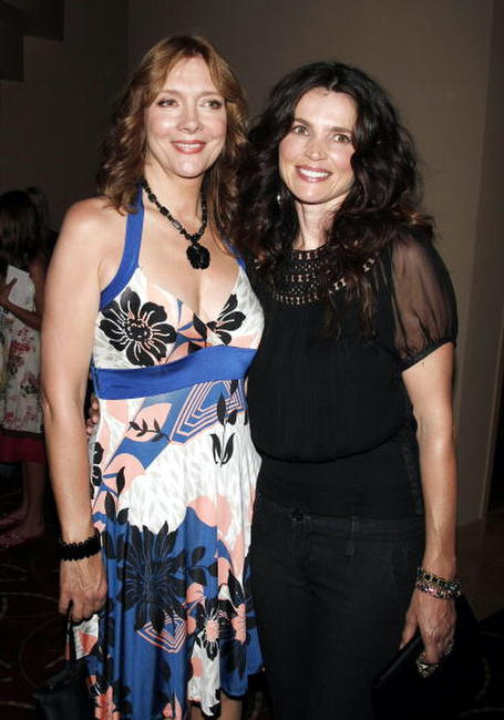 Glenne Headly and Julia Ormond at the premiere of