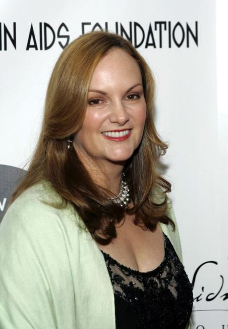 Patricia Hearst at the Elton John and David Furnish Co-Chair AIDS Foundation Benefit.