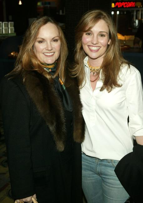 Patricia Hearst and Gillian Hearst at the private screening of