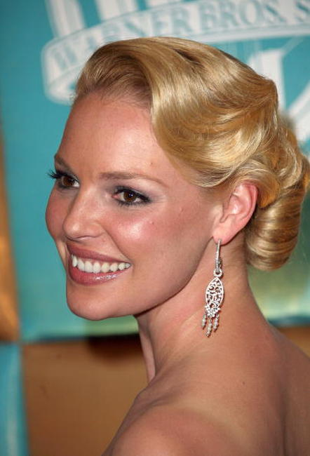 Katherine Heigl at the In Style Magazine and Warner Bros. Studios Golden Globe after party in Beverly Hills.