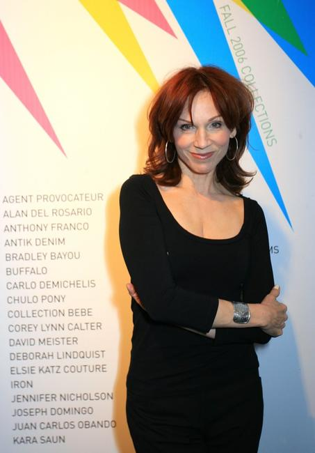 Marilu Henner at the Mercedes-Benz Fashion Week.