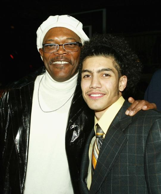 Samuel L. Jackson and Rick Gonzalez at the afterparty of the premiere of