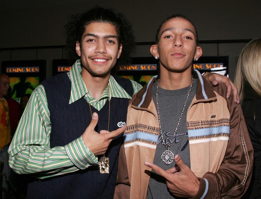 Rick Gonzalez and Khleo Thomas at the premiere of