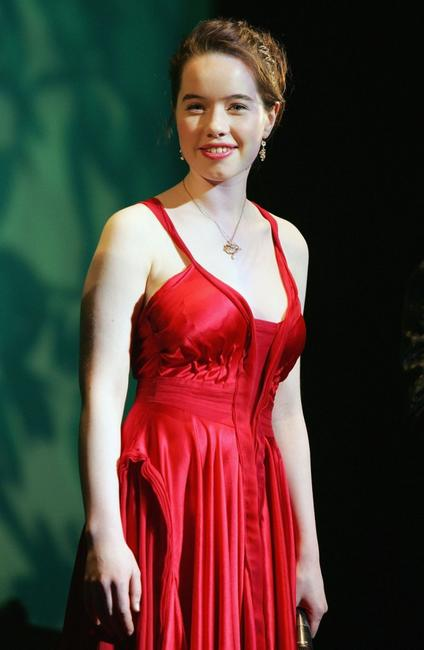 Anna Popplewell at the Japanese Premiere of
