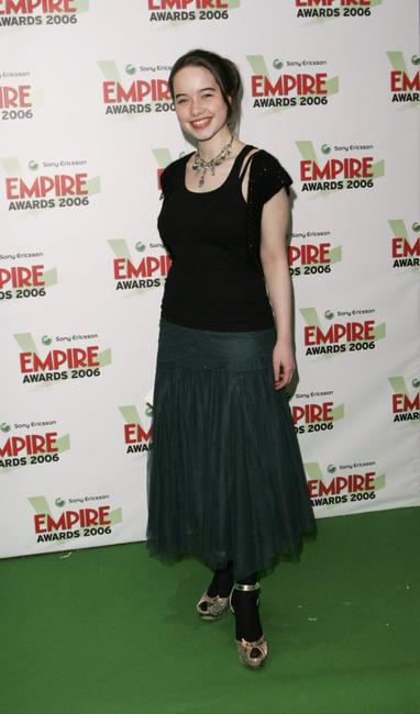 Anna Popplewell at the Sony Ericsson Empire Film Awards 2006.