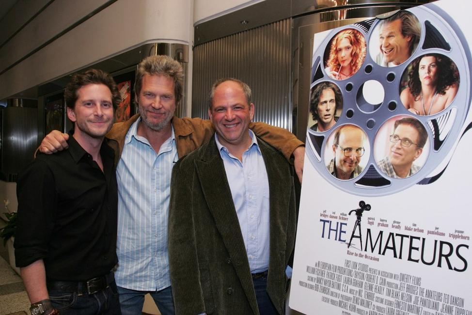 Jeff Bridges, Aaron Ryder and Michael Traeger at the Cast Special Screening of