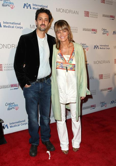Grant Heslov and his wife Lisa Heslov at the Children Mending Hearts Gala.