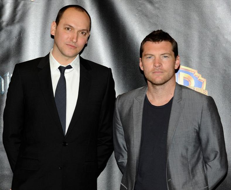Louis Leterrier and Sam Worthington at the promotion of