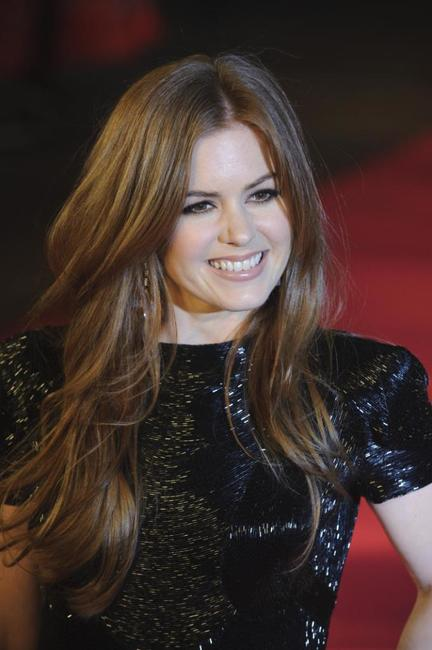 Isla Fisher at the UK premiere of