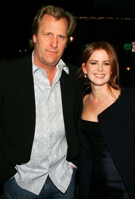 Jeff Daniels and Isla Fisher at the screening of