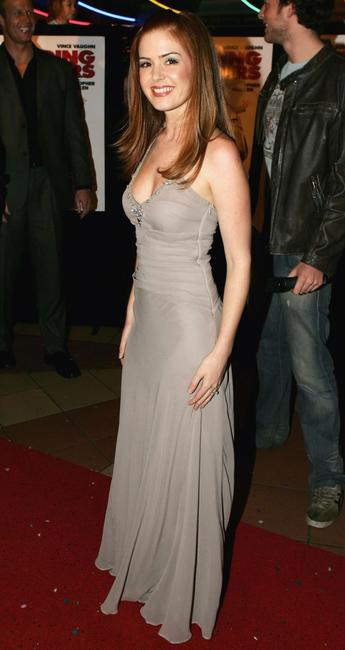 Isla Fisher at the Melbourne premiere of