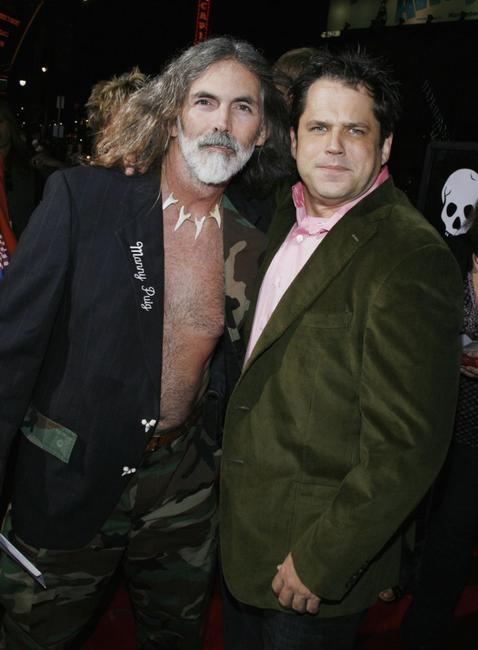 Manny Puig and Jeff Tremaine at the premiere of