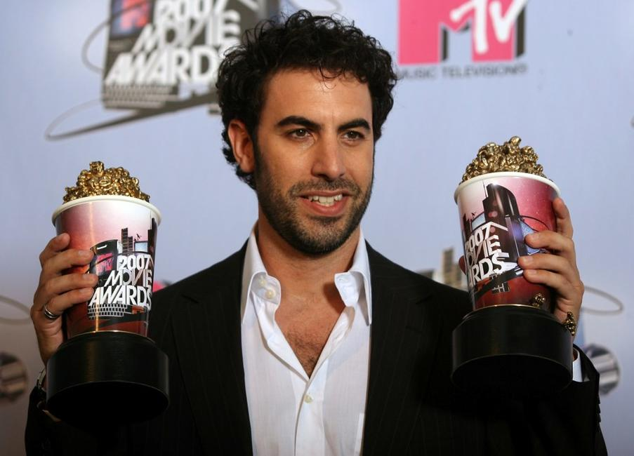 Sacha Baron Cohen at the 2007 MTV Movie Awards.