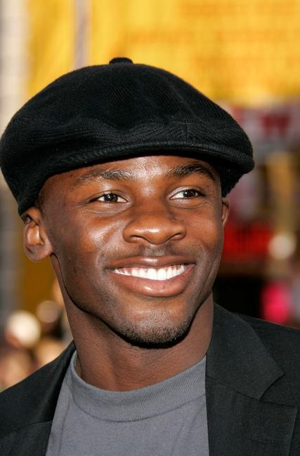 Derek Luke at the premiere of