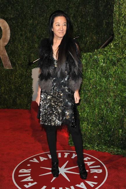 Vera Wang at the 2010 Vanity Fair Oscar party.