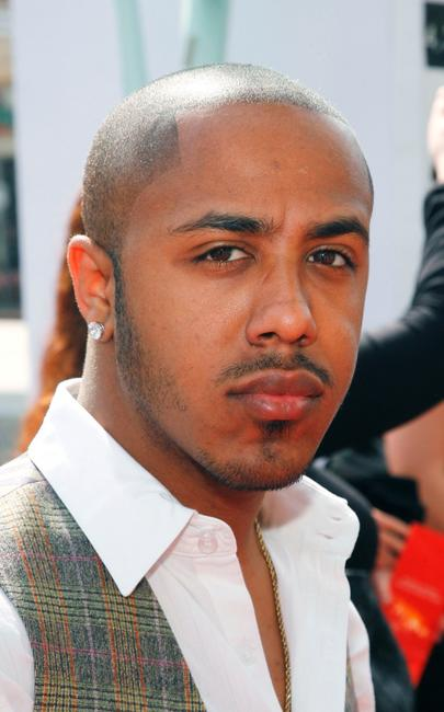 Marques Houston at the premiere of