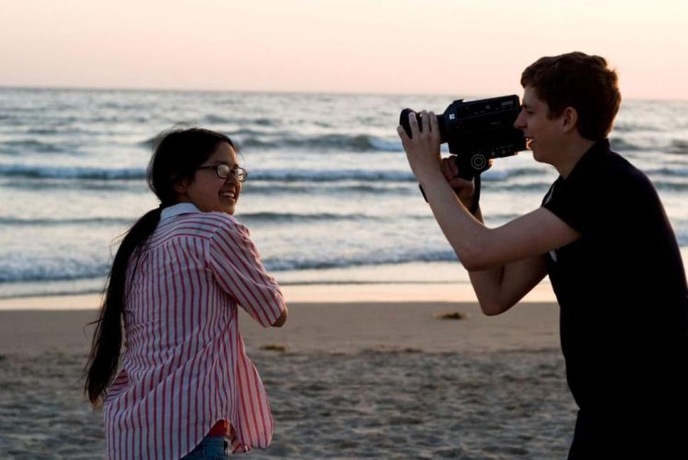 Charlyne Yi and Michael Cera in
