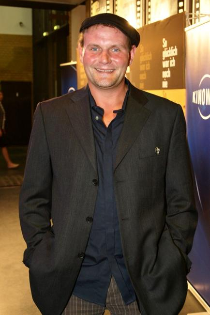 Devid Striesow at the premiere of
