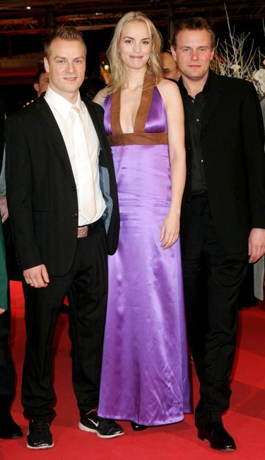 Hinnerk Schoenemann, Nina Hoss and Devid Striesow at the premiere of