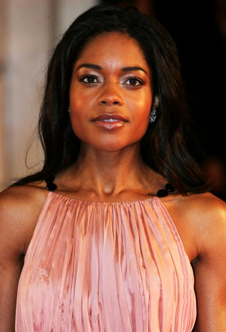 Naomie Harris at the Orange British Academy Film Awards (BAFTAs).