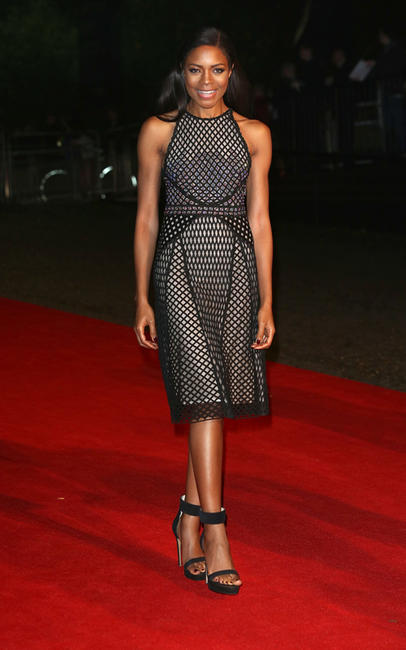 Naomie Harris at the after party of the Royal world premiere of