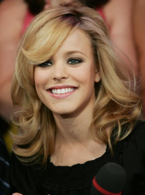 Rachel McAdams at the MTV's Total Request Live.
