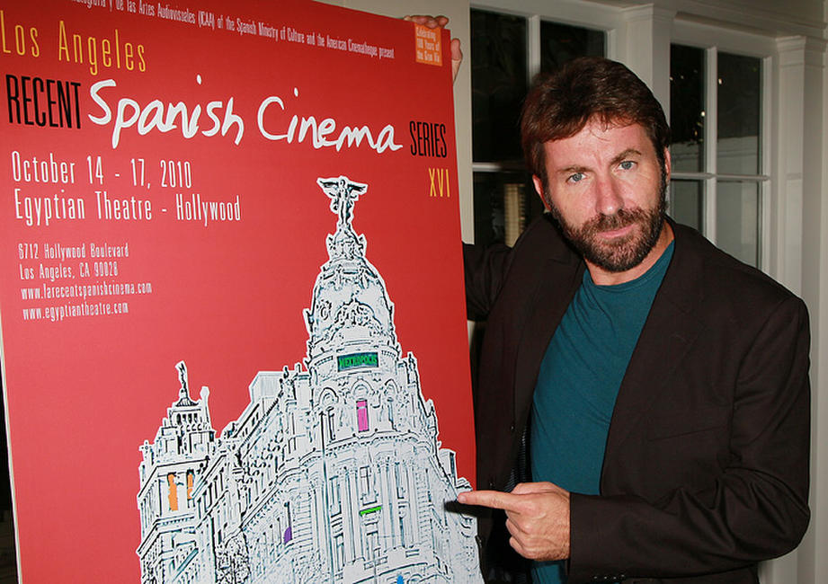 Antonio de la Torre at the press announcement of Recent Spanish Cinema Series 2010 in California.