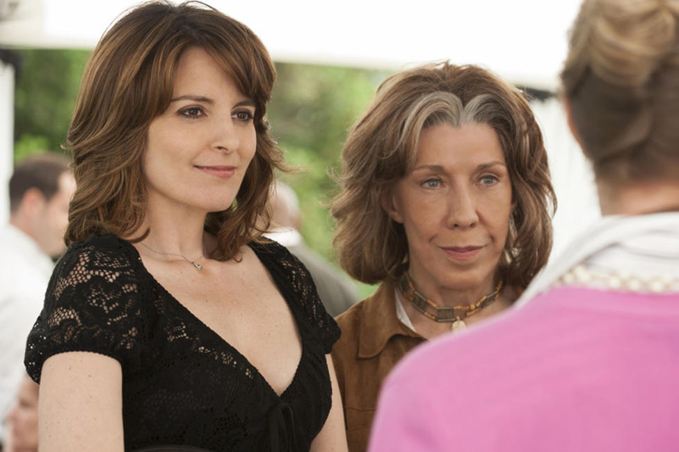 Tina Fey as Portia Nathan and Lily Tomlin as Susannah in