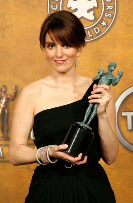 Tina Fey at the 14th Annual Screen Actors Guild Awards.