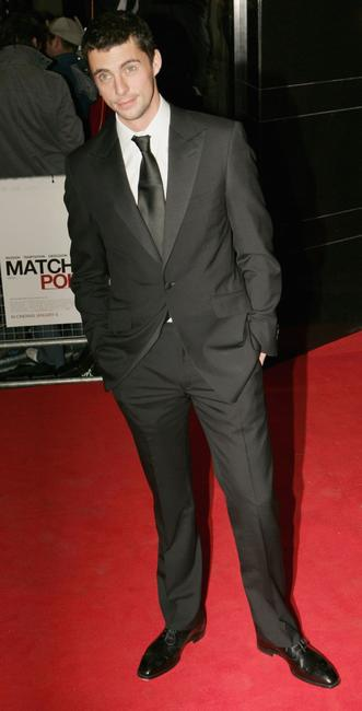 Matthew Goode at the UK premiere of