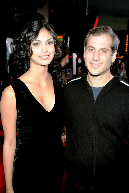 Morena Baccarin and Barry Mendel at the premiere of