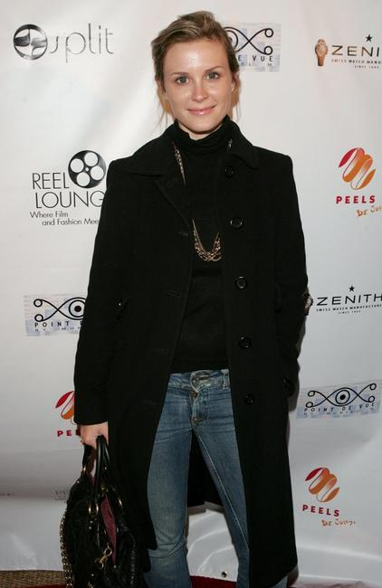 Bonnie Somerville at the REEL Lounge Retreat.