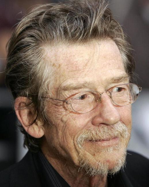 John Hurt at the UK premiere of