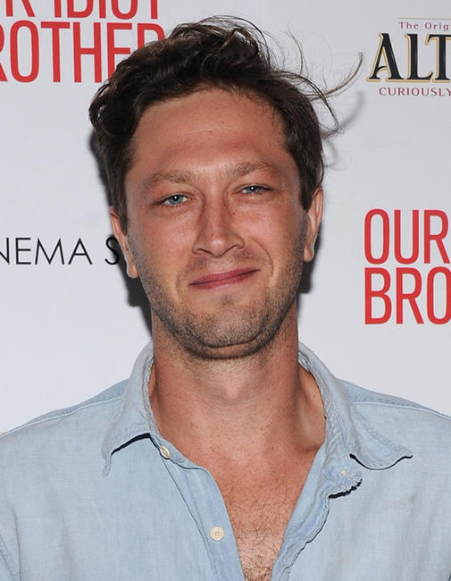 Ebon Moss-Bachrach at the New York premiere of