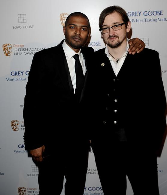 Noel Clarke and Jakob Schuh at the BAFTA Soho House Grey Goose after party.