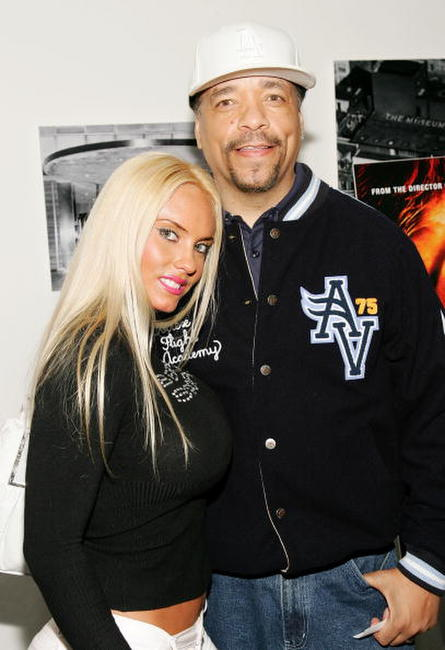 Ice-T and wife Nicole 'Coco' Austin at the special screening of