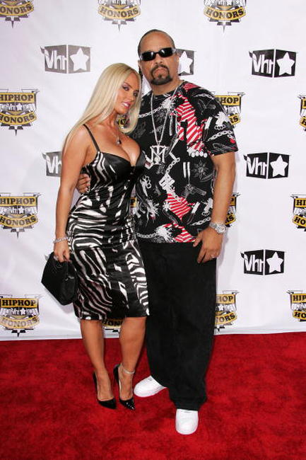 Ice-T and his wife Coco at the 4th Annual VH1 Hip Hop Honors ceremony.