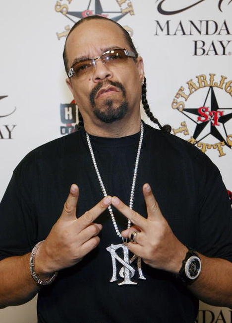 Ice-T at the grand opening of Mario Barth's Starlight Tattoo.
