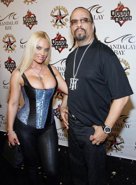 Ice-T and Nicole 'Coco' Austin at the grand opening of Mario Barth's Starlight Tattoo.