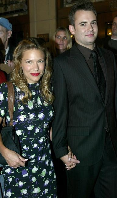 Kiele Sanchez and Zach Helm at the screening of