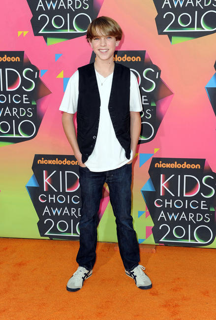 Chase Ellison at the Nickelodeon's 23rd Annual Kid's Choice Awards in California.
