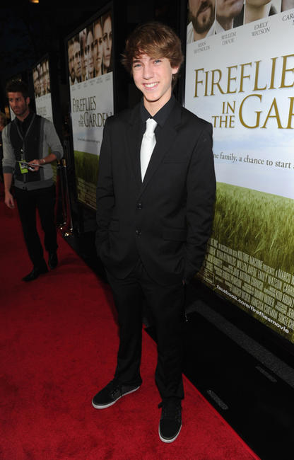 Chase Ellison at the California premiere of
