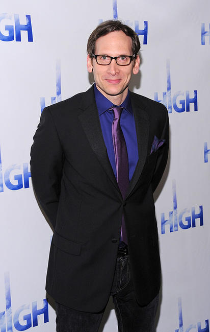 Stephen Kunken at the after party of the Broadway Opening Night of