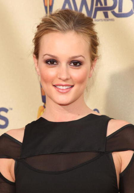 Leighton Meester at the 18th Annual MTV Movie Awards.
