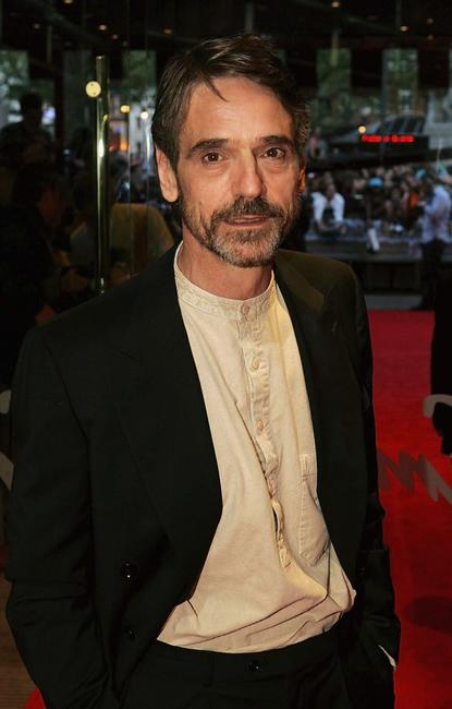 Jeremy Irons and Jeremy Irons at the London premiere of
