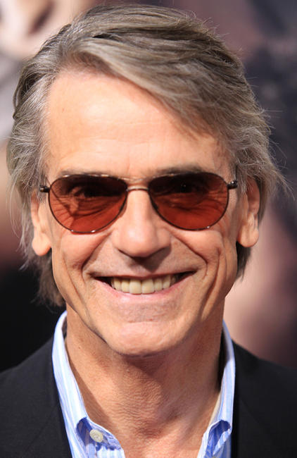 Jeremy Irons at the California premiere of